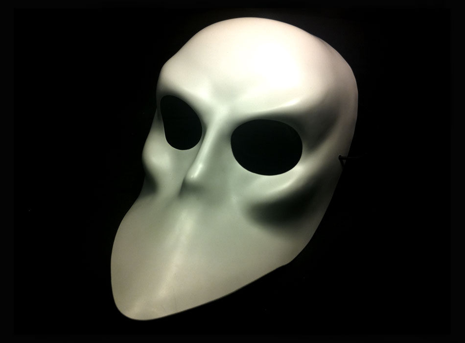 Sleep No More mask for Punchdrunk